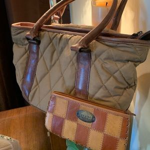 LLBEAN PURSE AND WALLET FROM BERMUDA
